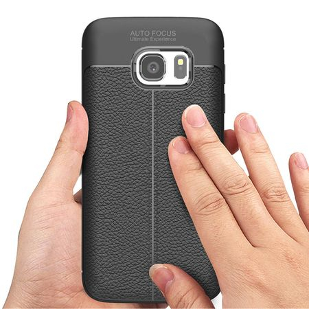 Husa Litchi TPU silicon Samsung Galaxy S7 [2]