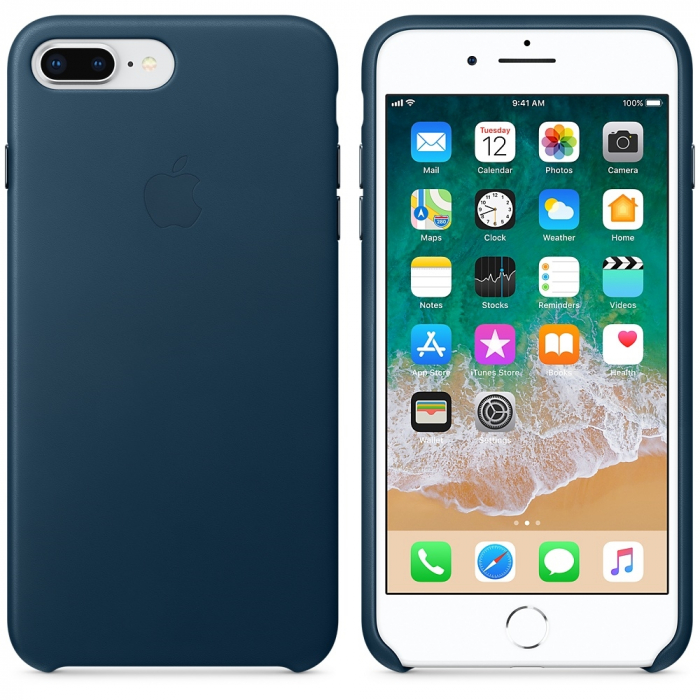 Husa Leather Cover Iphone 7 Plus/8 Plus Cosmos Blue [2]