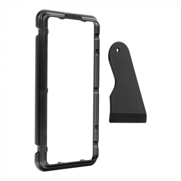Folie 5D Mr. Monkey Samsung Galaxy S9 Plus full AB glue cu rama [2]