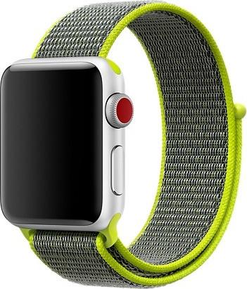 Curea Nylon strap Apple Watch 42/44mm / H002 / flash 0