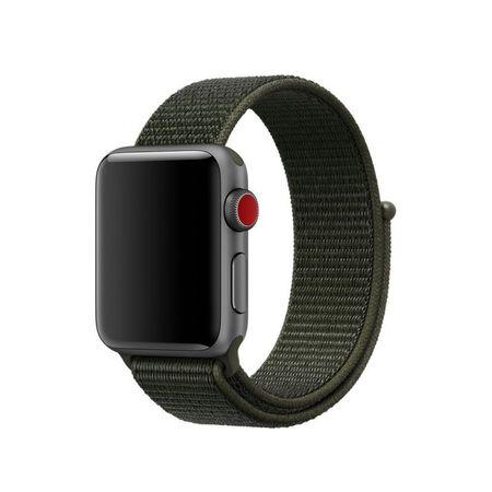 Curea Nylon strap Apple Watch 38/40mm / H029 / dark green 3