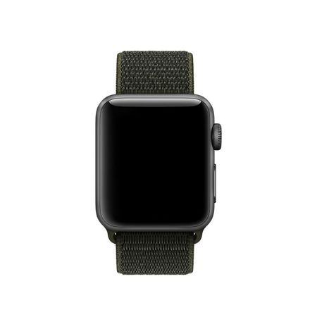 Curea Nylon strap Apple Watch 38/40mm / H029 / dark green 2