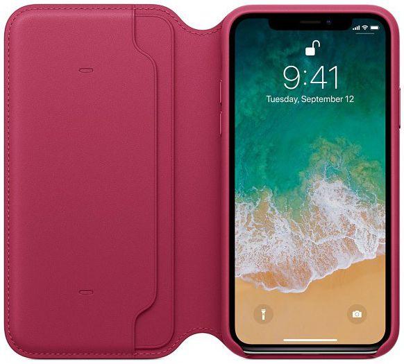 Husa Apple Leather Case IPhone X/XS 0