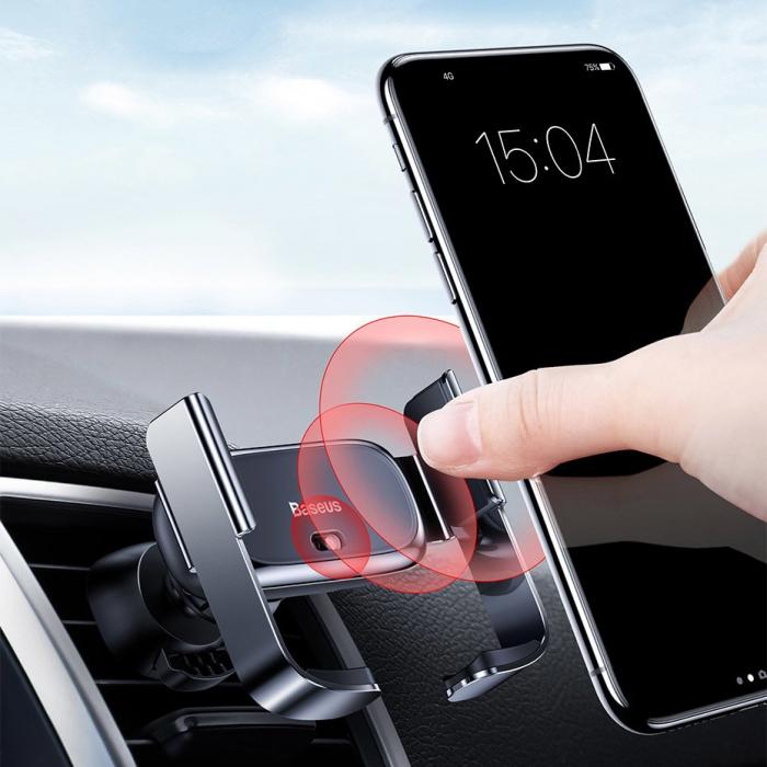 Suport auto Baseus Mini cu prindere electrica SUHW01-01 [7]