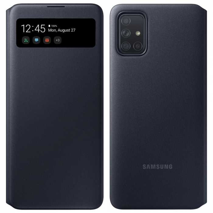 Husa de protectie Samsung S View Wallet Cover Samsung Galaxy A71 0