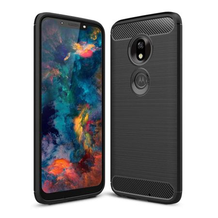 Husa Carbon Motorola Moto G7 Power [0]