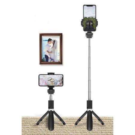 Selfie stick Tech-Protect wireless cu trepied L01S [3]