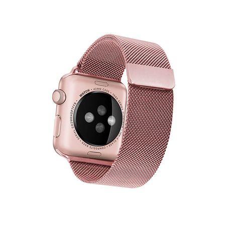 'Curea Apple Watch Milanese Loop 42/44mm rose gold' [2]