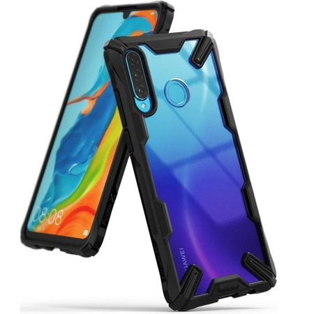 Ringke Fusion X durable PC Case with TPU Bumper for Huawei P30 Lite black 0