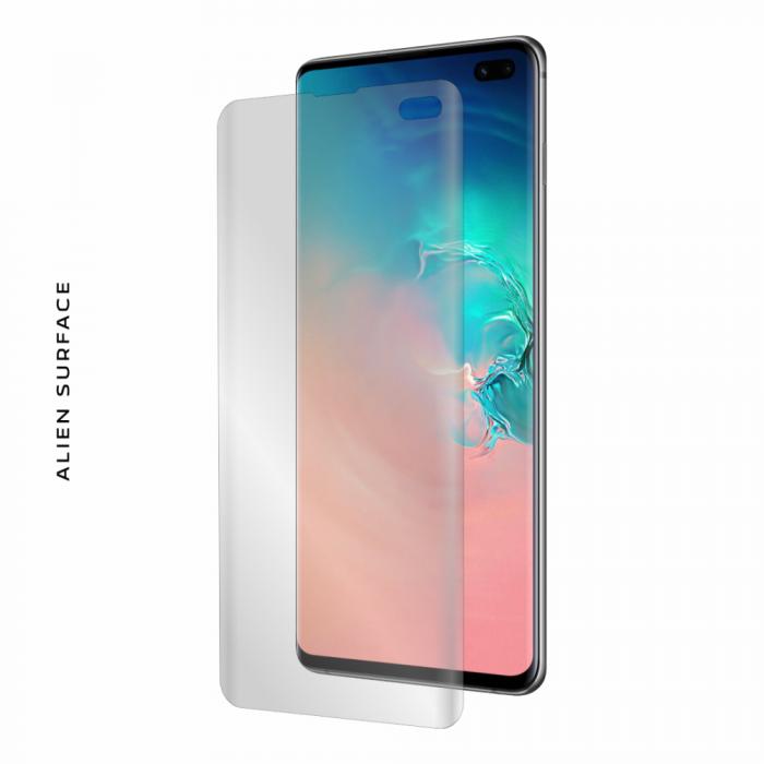 Folie Alien Surface Samsung Galaxy S10 Plus fata case compatible [0]