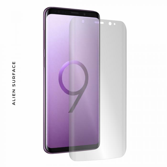 Folie Alien Surface Samsung Galaxy S9 Plus fata case compatible 0