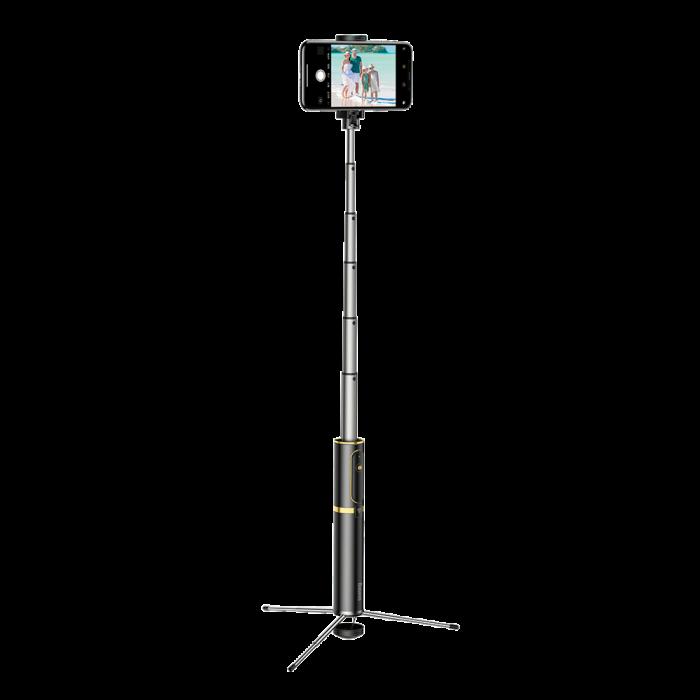 Selfie stick Baseus trepied telescopic cu bluetooth [1]