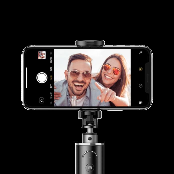 Selfie stick Baseus trepied telescopic cu bluetooth [5]