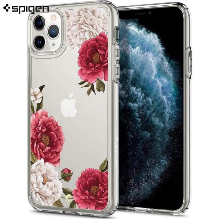 HUSA SPIGEN CIEL IPHONE 11 PRO MAX RED FLORAL 1