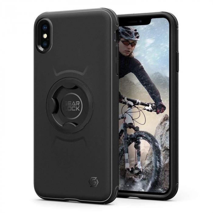 Husa suport bicicleta Spigen GearLock CF103 IPhone XS Max [0]