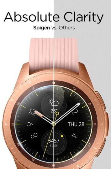 Folie sticla Spigen Glass Spigen Galaxy Watch 42mm 2