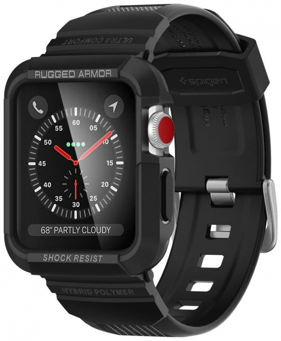 Husa Spigen Rugged Armor Pro Apple Watch 42mm 0