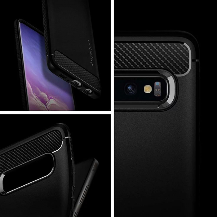HUSA SPIGEN RUGGED ARMOR SAMSUNG GALAXY S10 PLUS 6