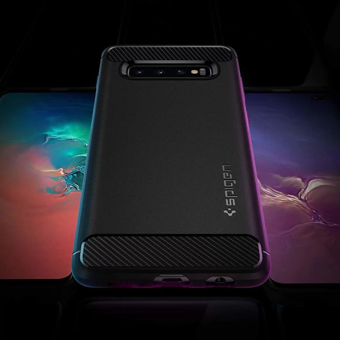 HUSA SPIGEN RUGGED ARMOR SAMSUNG GALAXY S10 PLUS 5