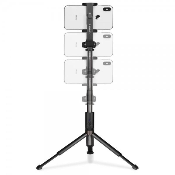 SPIGEN S540W Wireless Selfie Stick Tripod black 1