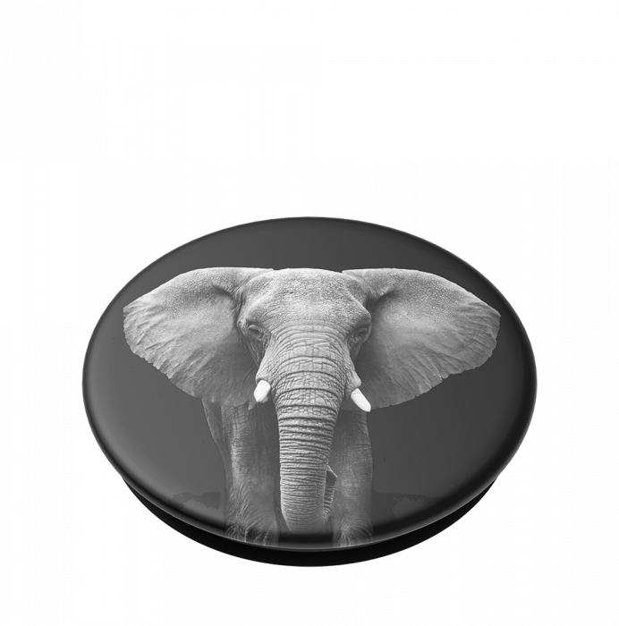 Suport stand adeziv universal Popsockets Popgrip Loxodonta Africana 2