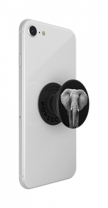 Suport stand adeziv universal Popsockets Popgrip Loxodonta Africana 6