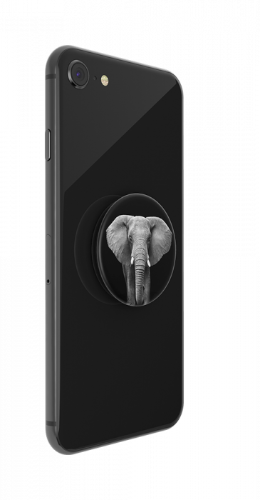 Suport stand adeziv universal Popsockets Popgrip Loxodonta Africana 3