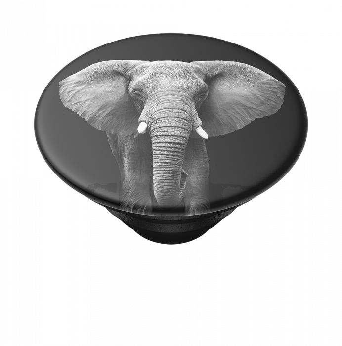 Suport stand adeziv universal Popsockets Popgrip Loxodonta Africana 7