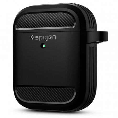 Husa Spigen Rugged Armor Apple Airpods0