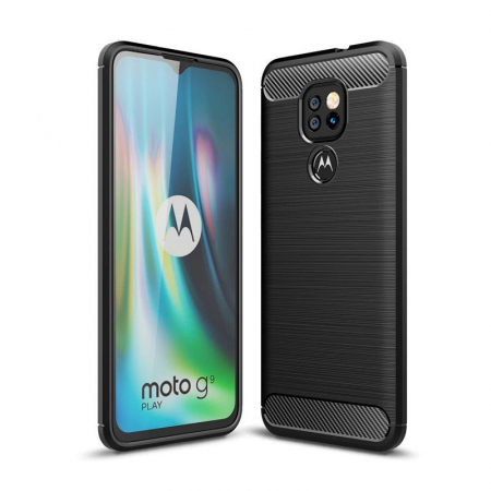 Husa Tech-Protect TPU Carbon Motorola Moto G9 Play/E7 Plus [0]