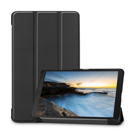 Husa Tech-Protect Smartcase Samsung Galaxy Tab A 8.0 inch T290/T295 Black0