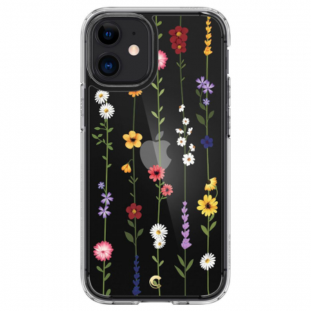 Husa Spigen Cecile IPhone 12 Mini Flower Garden [0]