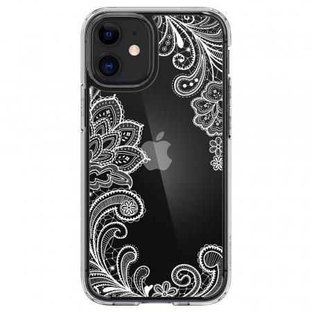 Carcasa Spigen Cecile iPhone 12 Mini White Mandala0