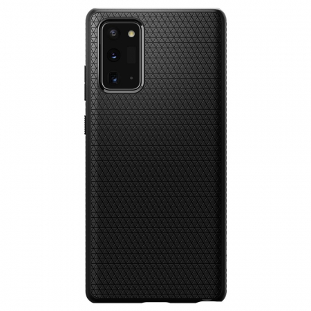 Carcasa Spigen Liquid Air Samsung Galaxy Note 20 Matte Black0