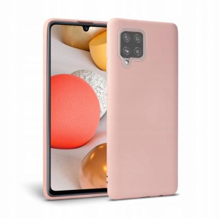Husa Tech-protect Icon Samsung Galaxy A42 5G roz