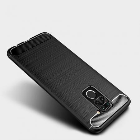 Husa Tech-Protect TPU carbon Xiaomi Redmi Note9 [1]