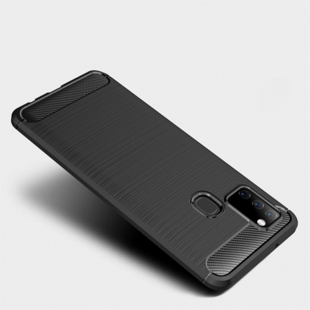 Husa Tech-Protect TPU carbon Samsung Galaxy M312