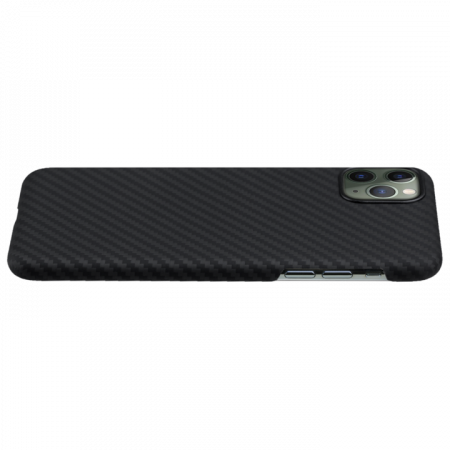 Husa fibra Aramida Potaka MagSafe IPhone 11 Pro Max Twill1