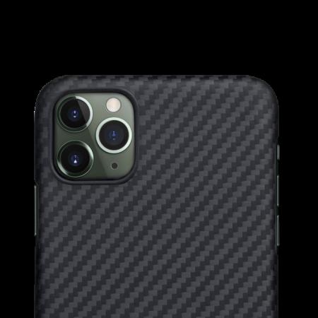 Husa fibra Aramida Potaka MagSafe IPhone 11 Pro Max Twill2