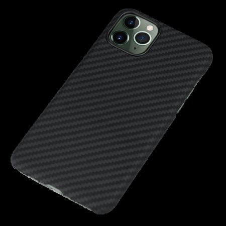 Husa fibra Aramida Potaka MagSafe IPhone 11 Pro Max Twill3