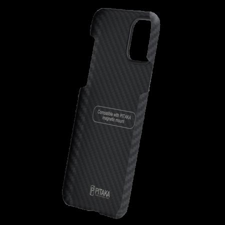 Husa fibra Aramida Potaka MagSafe IPhone 11 Pro Max Twill4