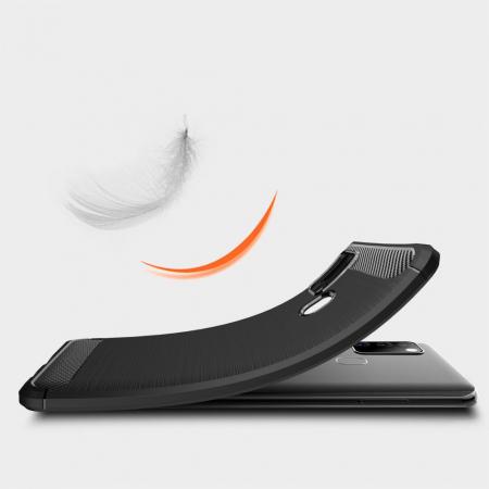 Husa Tech-Protect TPU carbon Samsung Galaxy M314