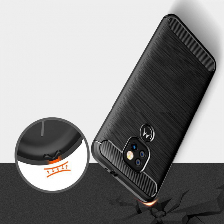 Husa Tech-Protect TPU Carbon Motorola Moto G9 Play/E7 Plus [1]