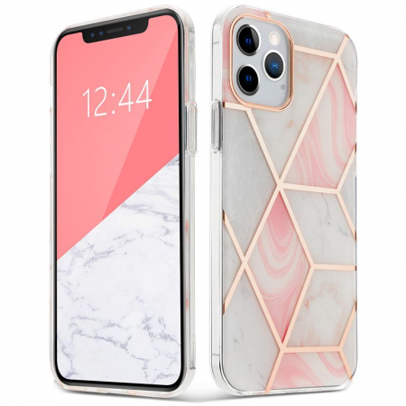 Husa Tech-Protect Marble IPhone 12/12 Pro [0]
