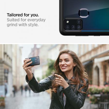 Husa Spigen Ultra Hybrid Samsung Galaxy A21s [4]