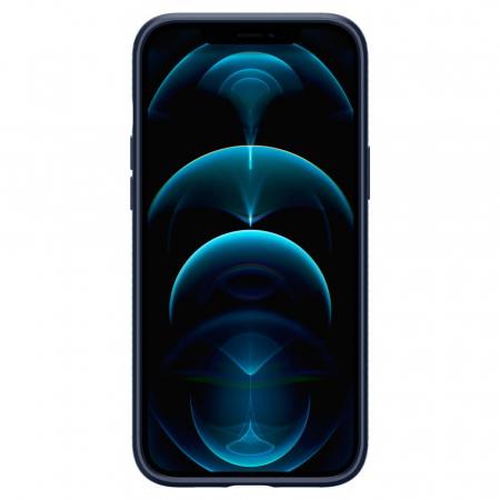 Husa Spigen Liquid Air IPhone 12/12 Pro albastru [1]