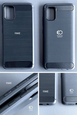 Husa Tech-Protect TPU carbon Xiaomi Redmi Note 9 [1]