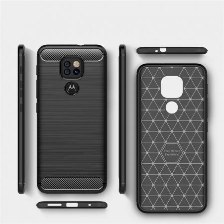 Husa Tech-Protect TPU Carbon Motorola Moto G9 Play/E7 Plus [2]
