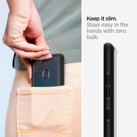 Husa Spigen Ultra Hybrid Samsung Galaxy A21s [5]