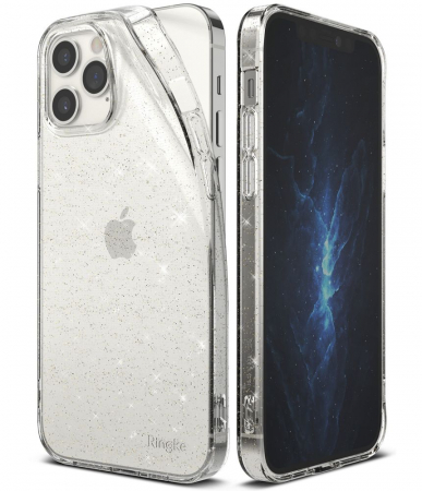 Husa Ringke Air IPhone 12/12 Pro glitter2